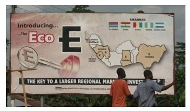 eco-la-moneta unica della liberta economica dell'africa
