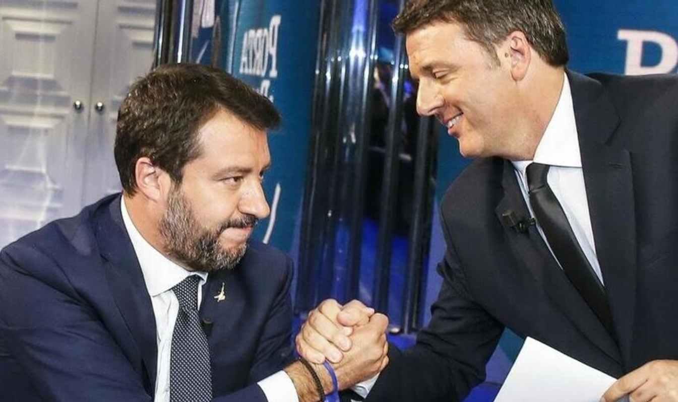 Renzi e Salvini, due facce della stessa medaglia?