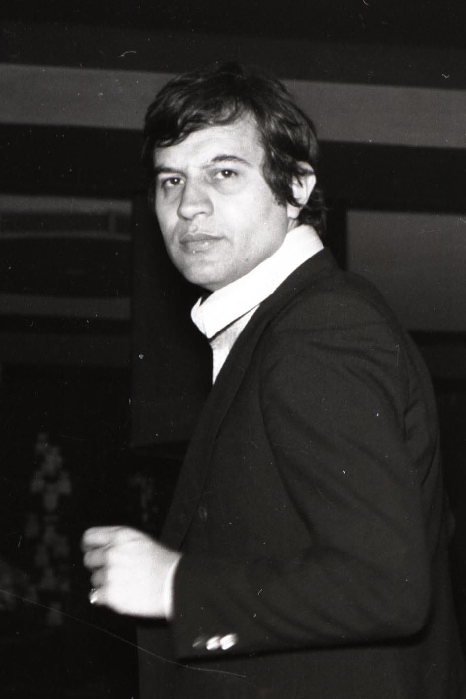 Fred Buongusto. Ph Orazio Valenti