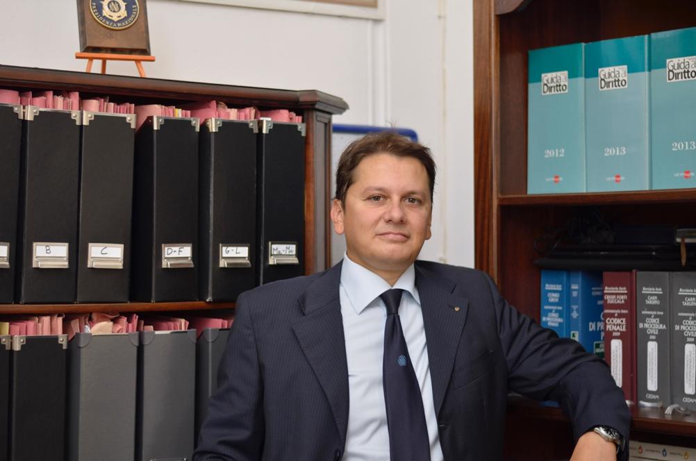 l'avvocato Daniele Pomata