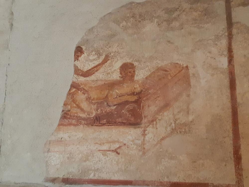 sessualità nel lupanare di Pompei