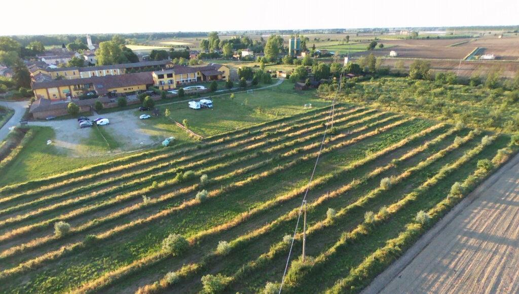 Foto da Drone utilizzato per immagini finalizzate alla tutela ambientale