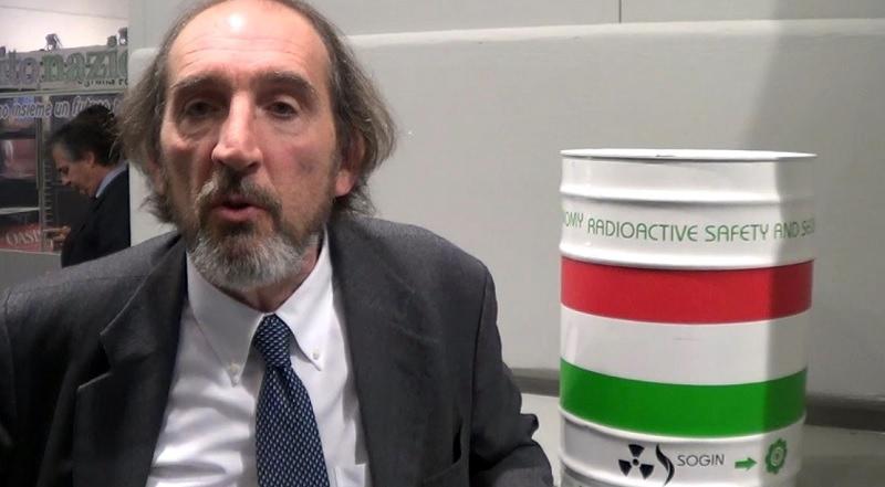 Fabio Chiaravalli, della Sogin, società pubblica responsabile dello smantellamento (decommissioning) degli impianti nucleari italiani e della gestione dei rifiuti radioattivi, compresi quelli generati dalle attività di medicina nucleare, industriali e di ricerca.