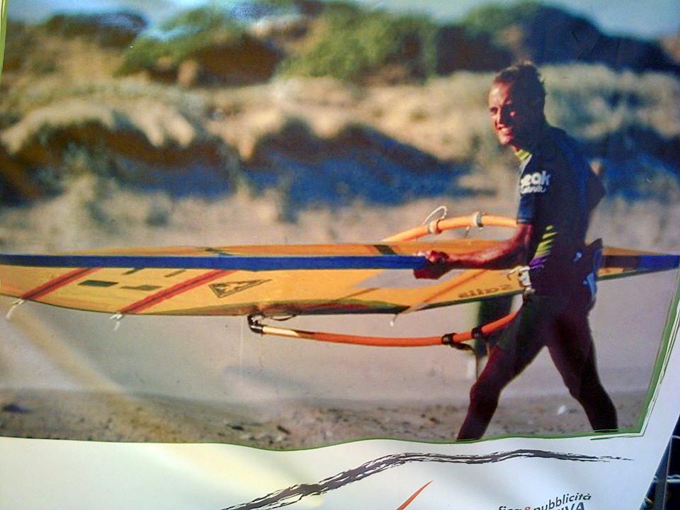 Chico detenuto, campione di vela e surf.