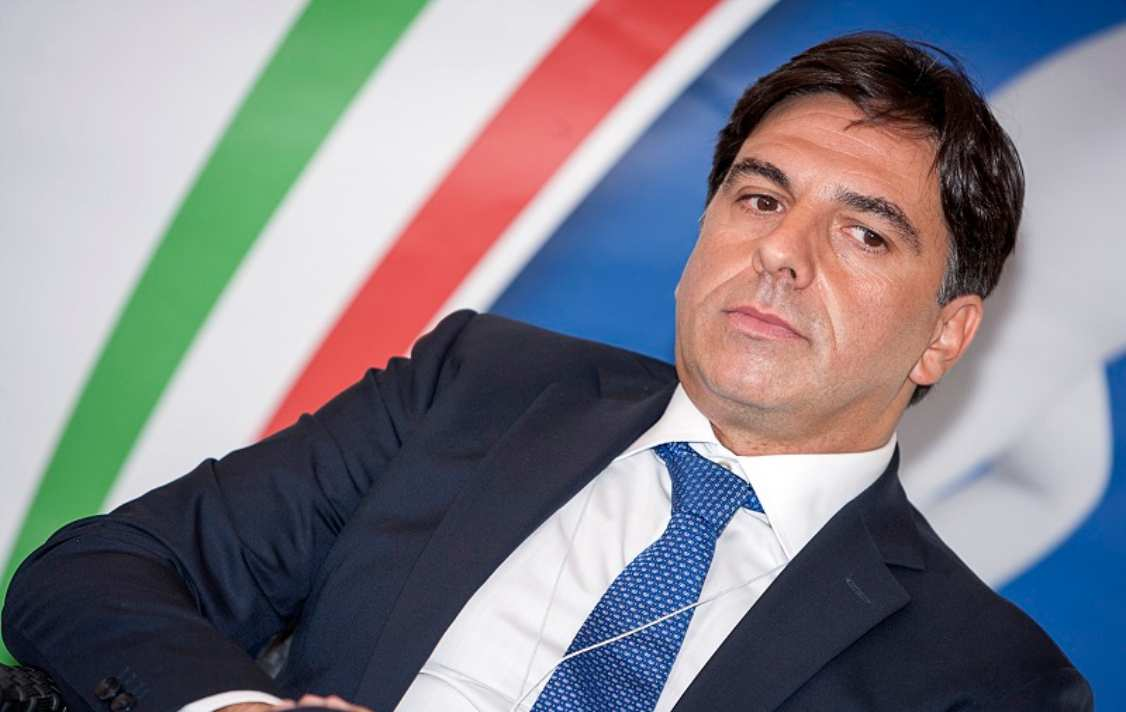Il sindaco di Catania Salvo Pogliese