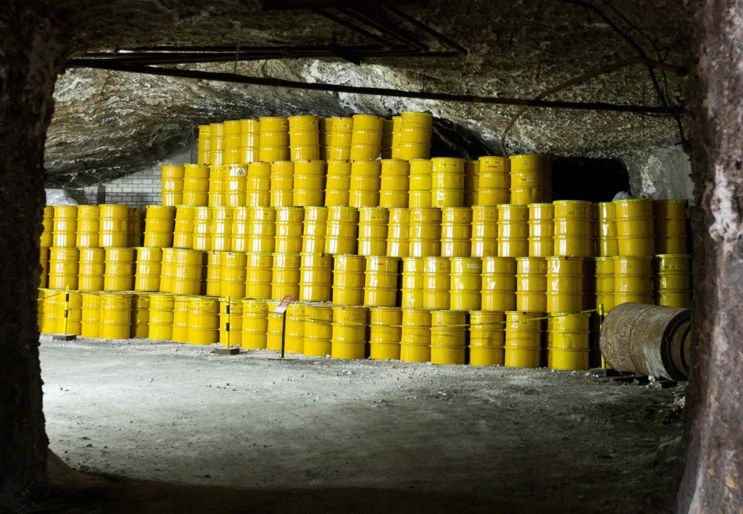 Il sito sotterraneo di Onkalo in Finlandia destinato a stoccaggio RX.