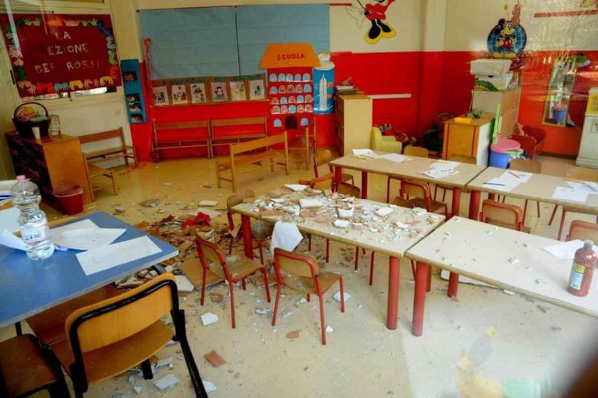 La precarietà dell'edilizia scolastica