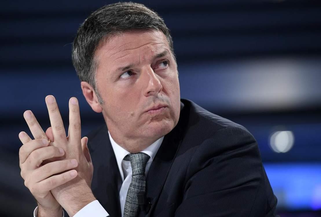 Un Matteo Renzi pensieroso