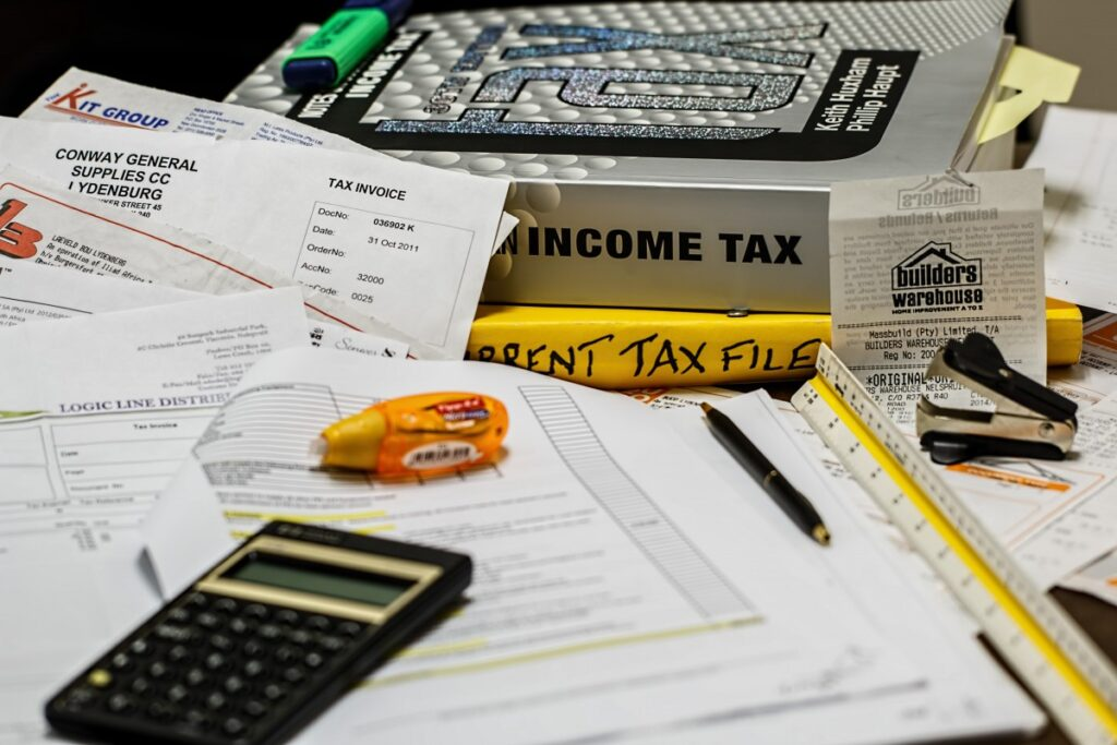 calcolo delle tasse