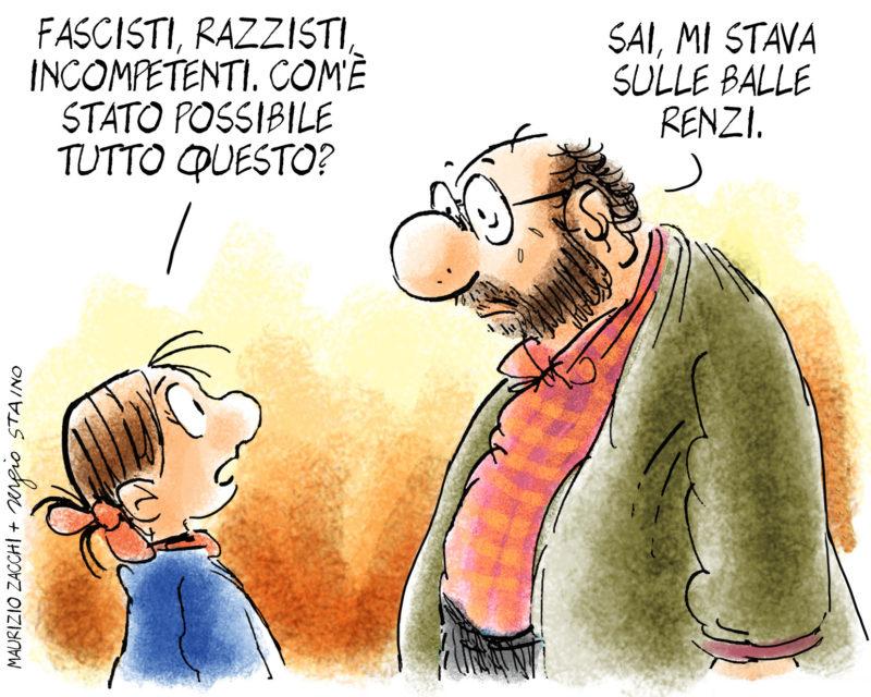 Vignetta-Staino-Renzi